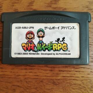 ゲームボーイアドバンス(ゲームボーイアドバンス)のマリオ&ルイージRPG  ゲームボーイアドバンスソフト (携帯用ゲームソフト)