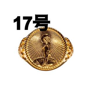 STUSSY - 17号Stussy 40th Anniversary Ring Gold