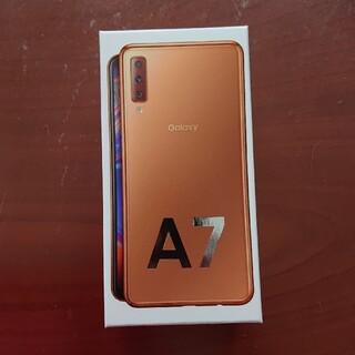 Galaxy - Galaxy A7  新品未開封