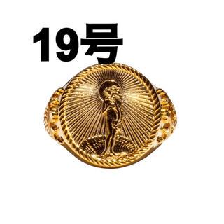 STUSSY - 19号 Stussy 40th Anniversary Ring Gold