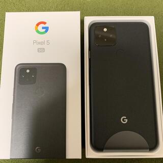 ANDROID - [新品] Google Pixel5 スマートフォン 128GB SIMフリー