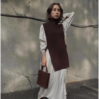 アメリヴィンテージ(Ameri VINTAGE)のAmeri VINTAGE☆ VEST LAYERED SHIRT DRESS(その他)