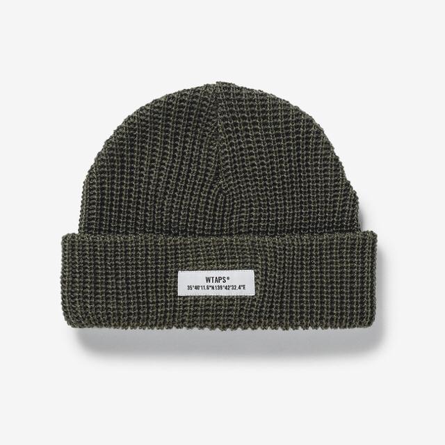 W)taps(ダブルタップス)のWTAPS BEANIE / BEANIE / WOAC グレー メンズの帽子(ニット帽/ビーニー)の商品写真