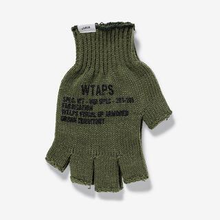 ダブルタップス(W)taps)のWTAPS TRIGGER / GLOVE / ACRYLIC オリーブ(手袋)