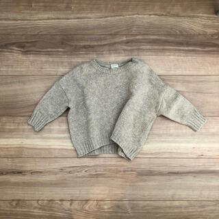 Caramel baby&child  - ベージュ knit  Sサイズ