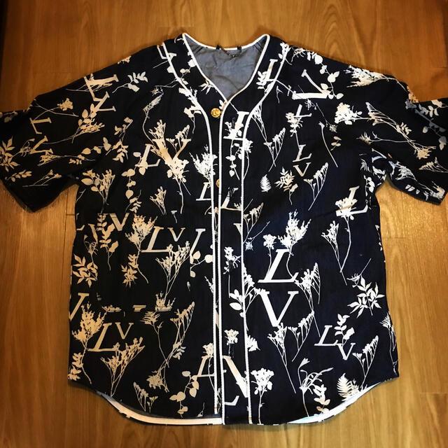 LOUIS VUITTON(ルイヴィトン)のLOUIS VUITTON ガーデニング リーフ 半袖シャツ ルイヴィトン メンズのトップス(シャツ)の商品写真
