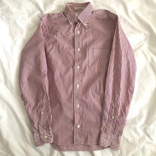 インディビジュアル(INDIVIDUAL)のIndividualized Shirts ストライプ シャツ 13 1/2 (シャツ/ブラウス(長袖/七分))