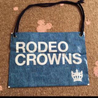 ロデオクラウンズ(RODEO CROWNS)のRODEOCROWNS ショップ袋 デニム柄(ショップ袋)