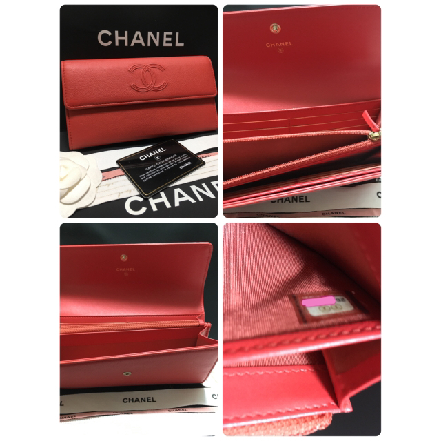 CHANEL(シャネル)のあや様専用♡超美品 ♡ シャネル デカココ 長財布 フラップ 26番台 正規品 レディースのファッション小物(財布)の商品写真