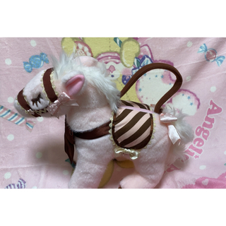 Angelic Pretty - Angelic Pretty milky pony bag ポニーバッグ