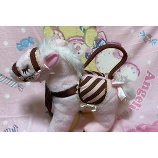 アンジェリックプリティー(Angelic Pretty)のAngelic Pretty milky pony bag ポニーバッグ(ハンドバッグ)