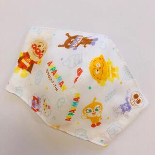2-7 子供用インナーマスク アンパンマン ブルー(外出用品)