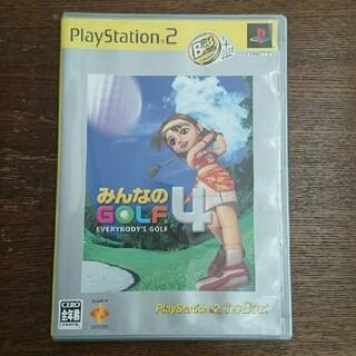 ソニー(SONY)のみんなのGOLF4(PlayStation 2 the Best) PS2(家庭用ゲームソフト)
