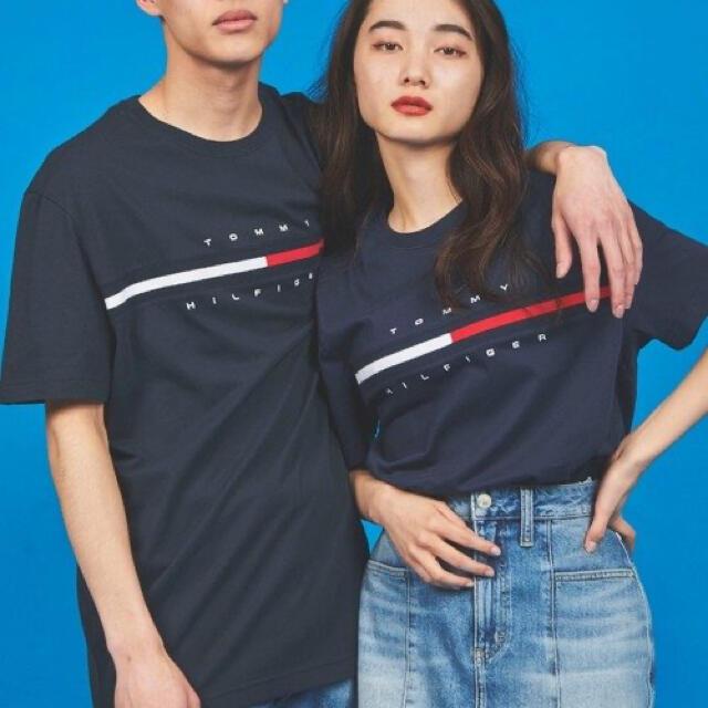 TOMMY HILFIGER(トミーヒルフィガー)のLOGO T-shirt メンズのトップス(Tシャツ/カットソー(半袖/袖なし))の商品写真