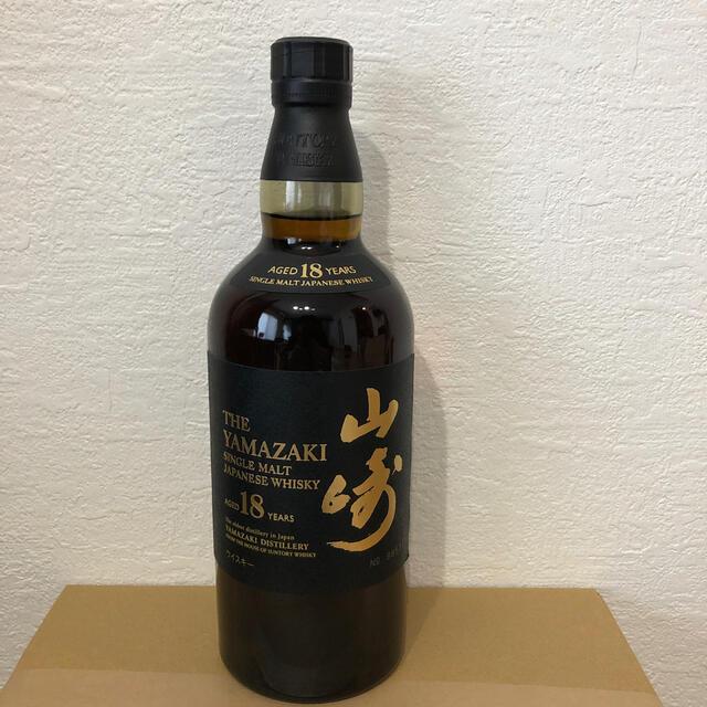 サントリー(サントリー)のサントリー山崎18年 食品/飲料/酒の酒(ウイスキー)の商品写真