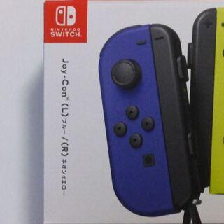 Nintendo Switch - 未使用 Joy-Con (L)ブルー  Joy-conストラップ黒 左