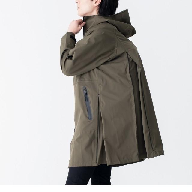 KiU(キウ)のkiu 4waystretch レインジャケット メンズのジャケット/アウター(ナイロンジャケット)の商品写真