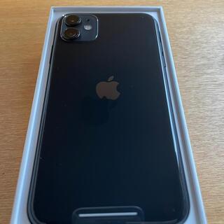 Apple - iPhone11 simフリー 128GB ブラック 美品