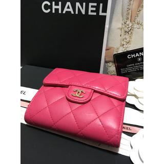 CHANEL - 美品♡ CHANEL シャネル 三つ折り財布 ミニ財布 21番台 正規品