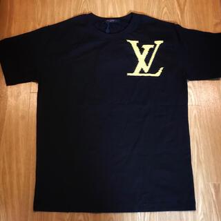 LOUIS VUITTON - LOUIS VUITTON LVロゴ プリント Tシャツ 半袖