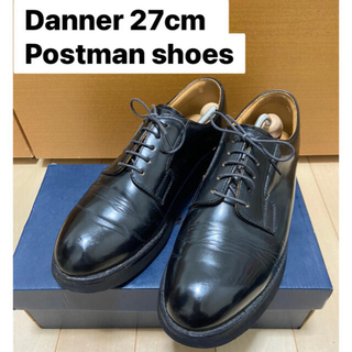 Danner - Danner ポストマンシューズ 27cm 日本製 黒 革靴