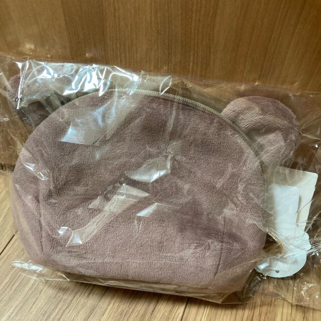 gelato pique(ジェラートピケ)の新品 ジェラートピケ くまさんポーチ レディースのファッション小物(ポーチ)の商品写真