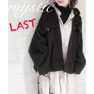 ミスティック(mystic)の新品♡¥9900【mystic】CPOジャケット BIGジャケット(ブルゾン)