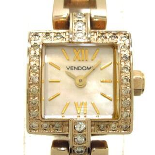 ヴァンドームアオヤマ(Vendome Aoyama)のヴァンドーム青山 腕時計 - レディース(腕時計)