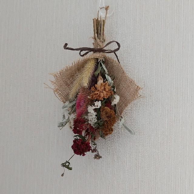 ドライフラワー*スワッグ ハンドメイドのフラワー/ガーデン(ドライフラワー)の商品写真