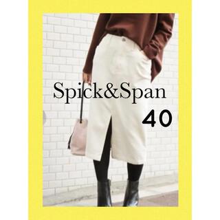 Spick and Span - Spick&Span スピックスパン コーデュロイスカート 新品未使用 40