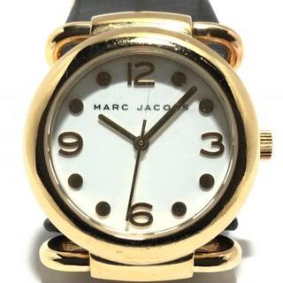 マークバイマークジェイコブス(MARC BY MARC JACOBS)のマークジェイコブス 腕時計 MBM1155 白(腕時計)