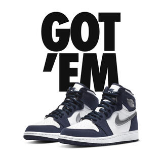 NIKE - Nike Air Jordan 1 Midnight Navy GS