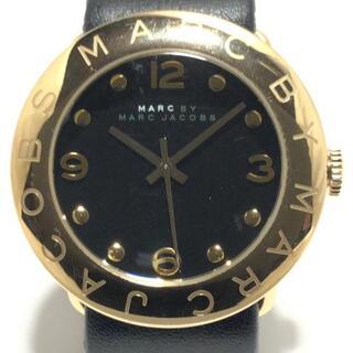 マークバイマークジェイコブス(MARC BY MARC JACOBS)のマークジェイコブス 腕時計 - MBM1154 黒(腕時計)
