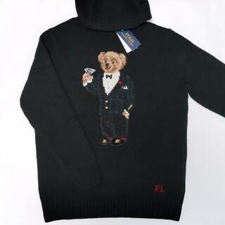 Ralph Lauren - Ralph Lauren ポロベア ニットパーカー セーター 国内正規