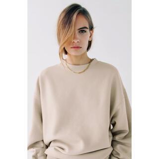 ZARA - ZARA オーバーサイズ仕様スウェットシャツ