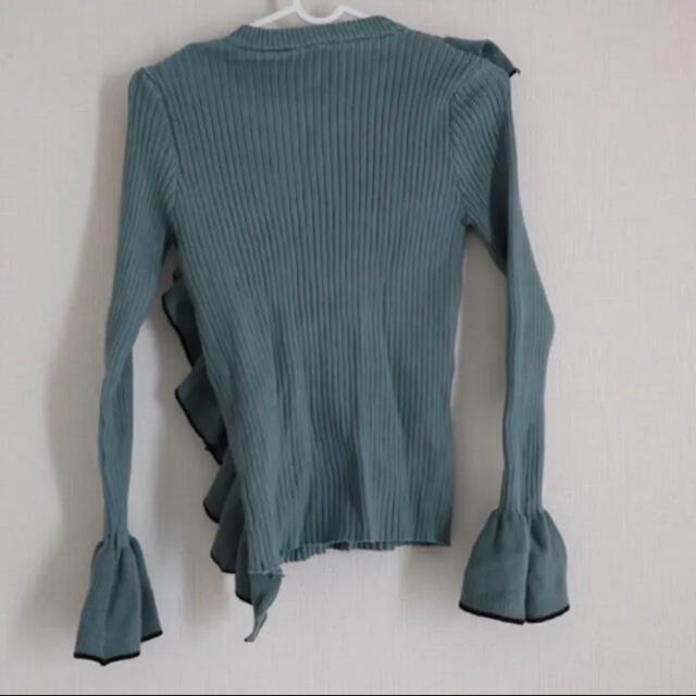 dholic(ディーホリック)のフリルニット レディースのトップス(ニット/セーター)の商品写真