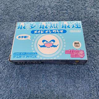 ゲームボーイアドバンス(ゲームボーイアドバンス)のメイド イン ワリオ made in wario(携帯用ゲームソフト)