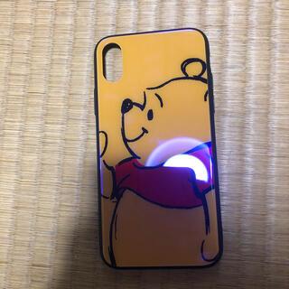 Disney - iPhoneXのくまのプーさんの携帯ケース