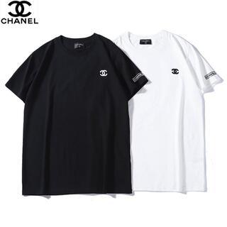 CHANEL - 刺繍ロゴ🎀\2枚7500円/シャネルCHANEL半袖Tシャツ#8