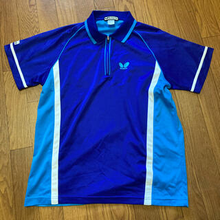 バタフライ(BUTTERFLY)のbutterfly  ポロシャツ スポーツシャツ Lサイズ(卓球)