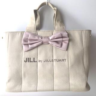 JILL by JILLSTUART - JILL byJillstuart リボンステッチ トートバッグ