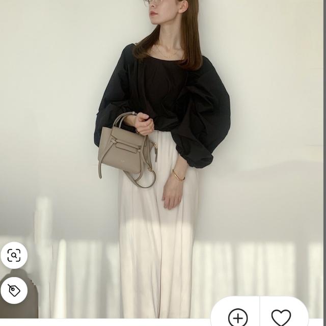 TODAYFUL(トゥデイフル)のtodayful Georgette Rough Trousers レディースのパンツ(カジュアルパンツ)の商品写真