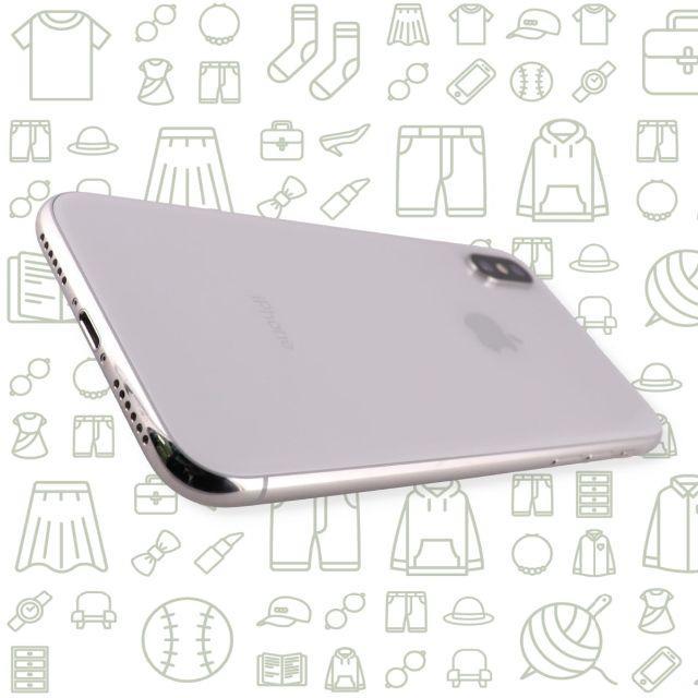 Apple(アップル)の【C】iPhoneX/64/SIMフリー スマホ/家電/カメラのスマートフォン/携帯電話(スマートフォン本体)の商品写真