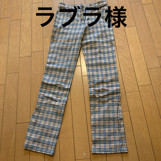 Burberry's BLUE LABELパンツ
