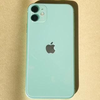 Apple - iPhone11 SIMフリー グリーン 128G