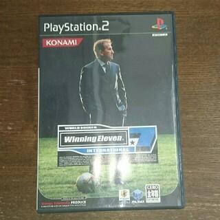 コナミ(KONAMI)のワールドサッカーウイニングイレブン7 インターナショナル PS2(家庭用ゲームソフト)