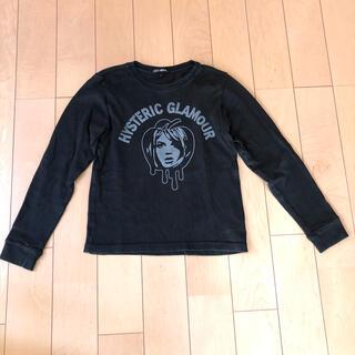 ジョーイヒステリック(JOEY HYSTERIC)のジョーイ ヒステリック☆スウェットトレーナー☆黒 140cmヒステリックグラマー(Tシャツ/カットソー)