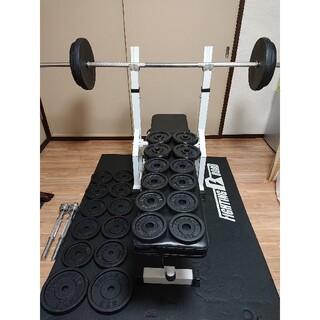 ベンチプレス 105㎏ バーベル ダンベル 筋トレ トレーニング ホームジム