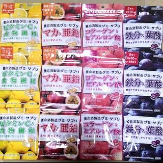 養命酒グミサプリ 4種類★各3袋《定価2566円》