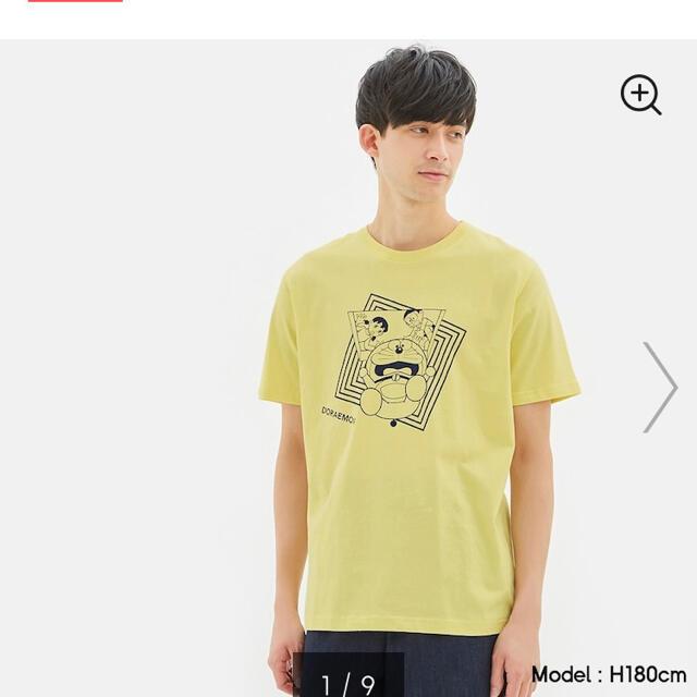 GU(ジーユー)の☆新品 未使用 GU ドラえもん Tシャツ☆ メンズのトップス(Tシャツ/カットソー(半袖/袖なし))の商品写真